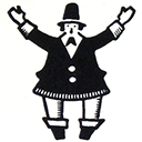 128 x 128 px Buttermann Slack emoji for your enjoyment