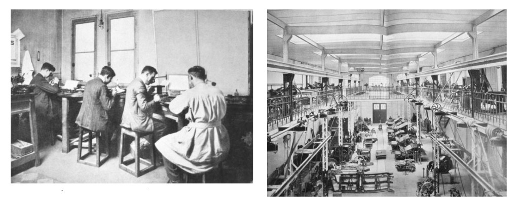 Images of Richard Gans typefoundry, probably before 1930. Courtesy of Unos Tipos Duros, see footnote for further information.