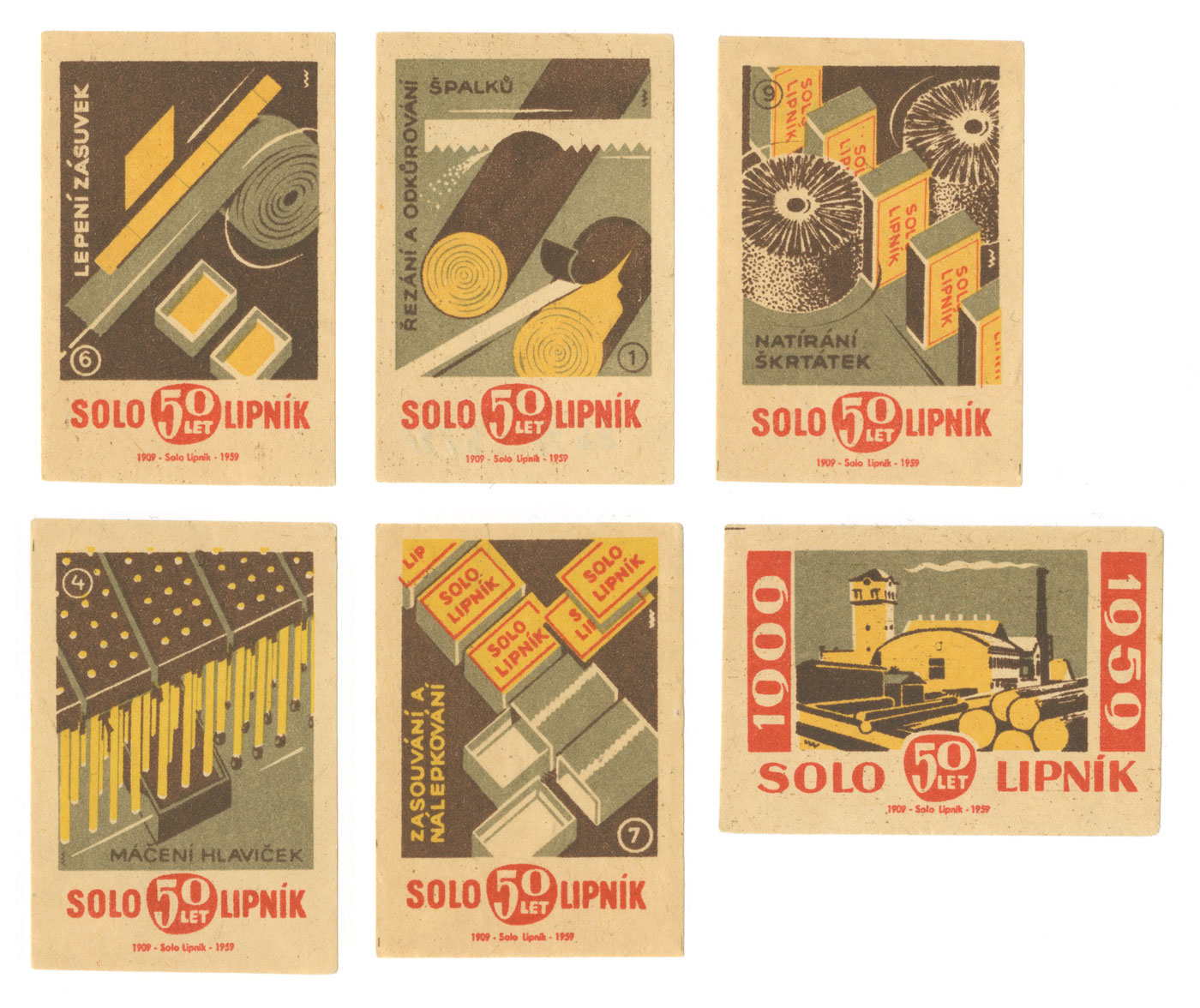 Matchbox Label Solo50Lipnik