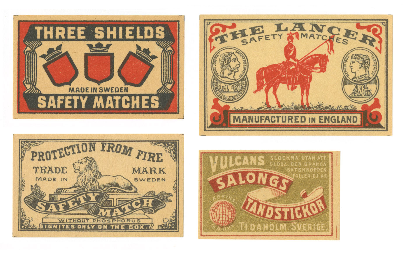 Misc. Matchbox Labels