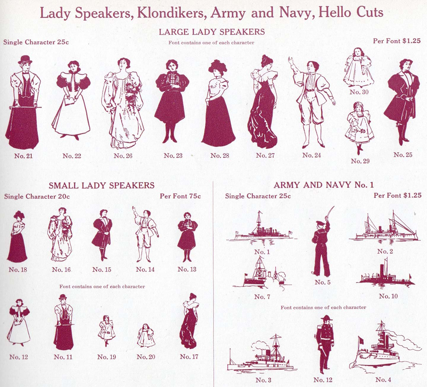 Turns out, it's never been that hard to find Lady Speakers after all