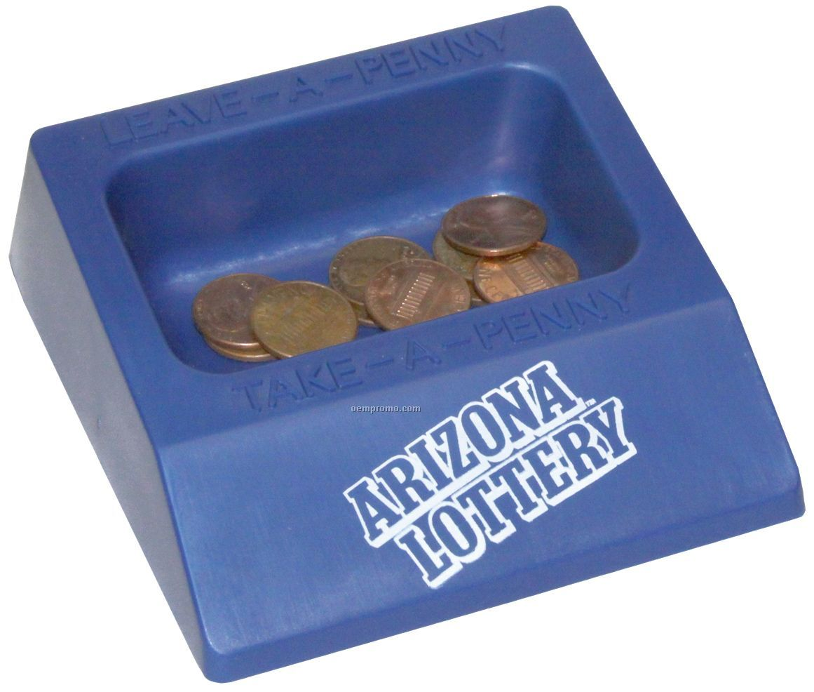 Pretty standard-looking penny tray