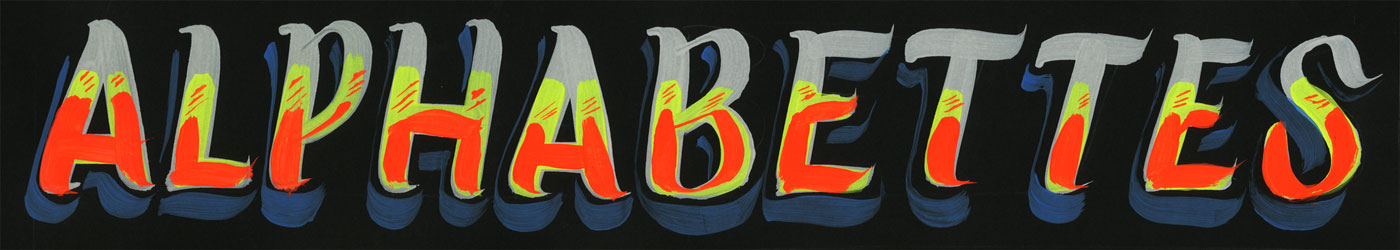 Alphabettes customised header, by Azucena