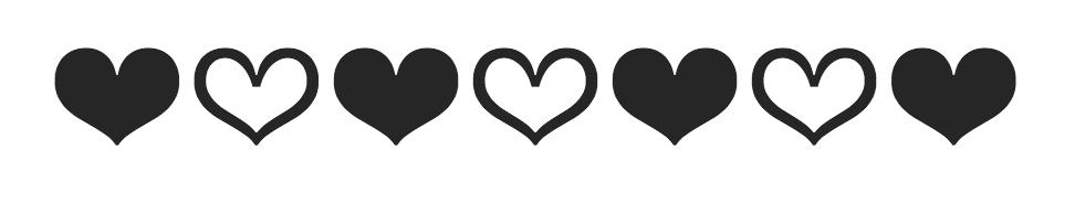 Franziska hearts