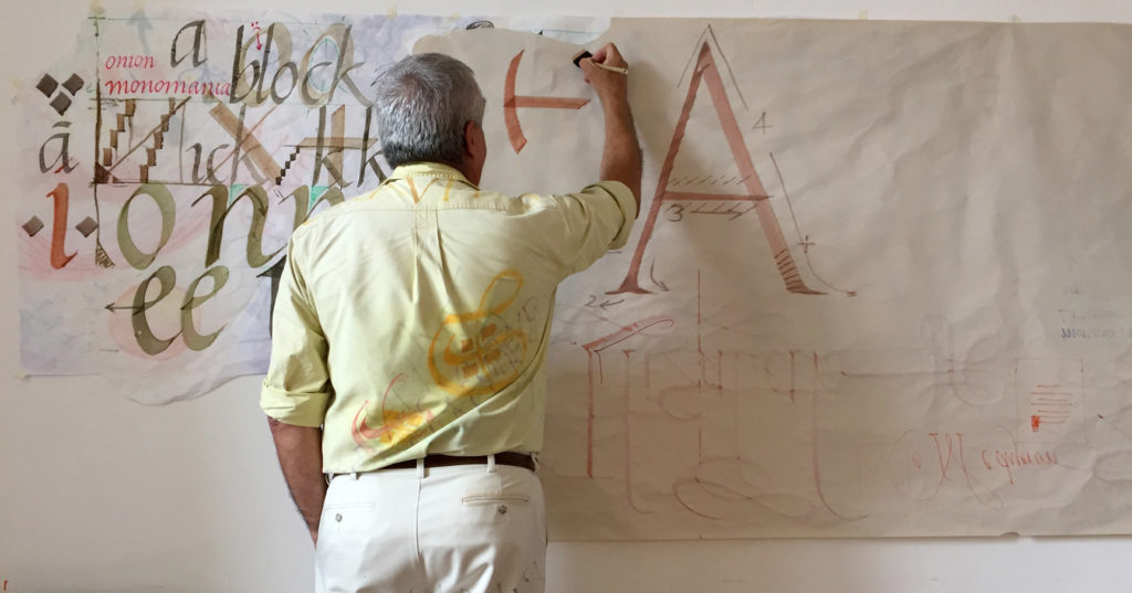 Remember December: Calligraphy Retreat in France | Alphabettes