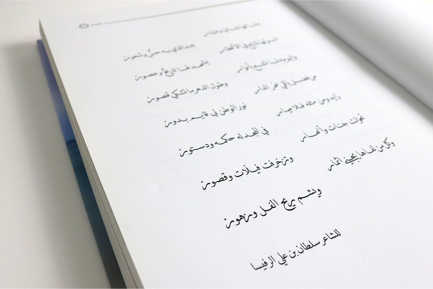 Opening Spread showing DecoType Naskh