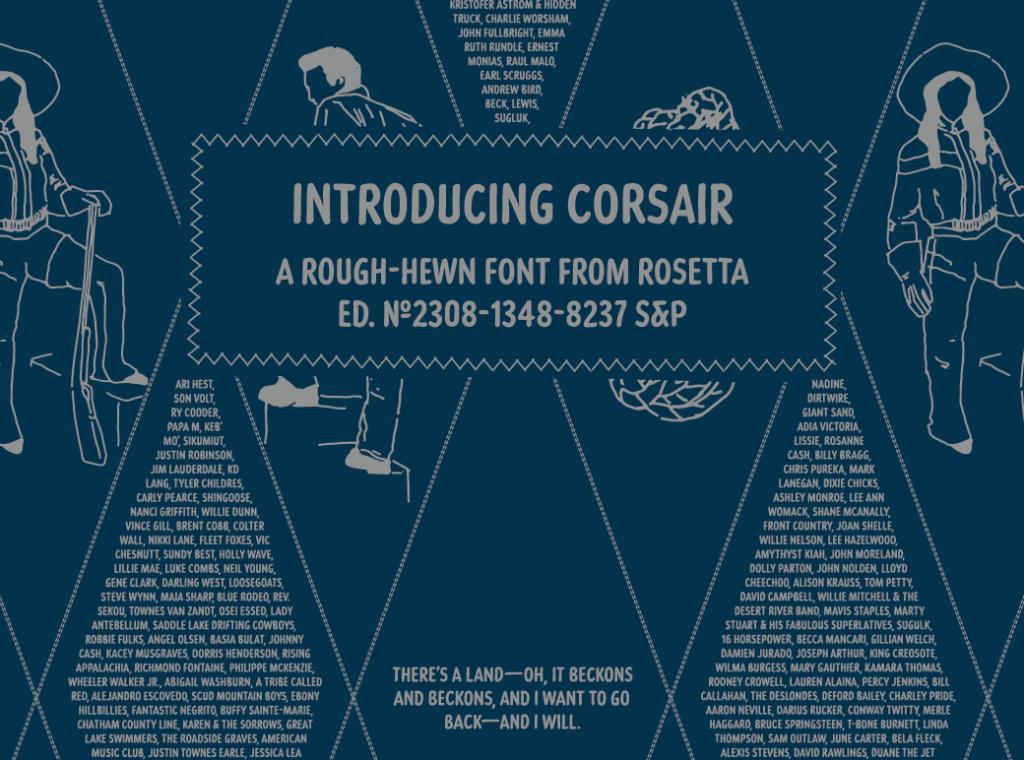 Corsair poster