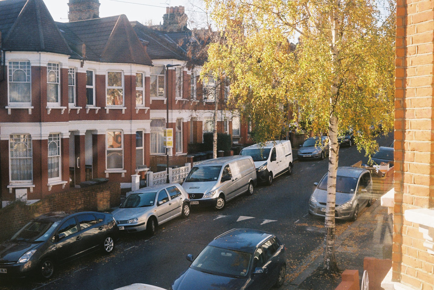 What I see from my window: The Harringay Ladder, North London