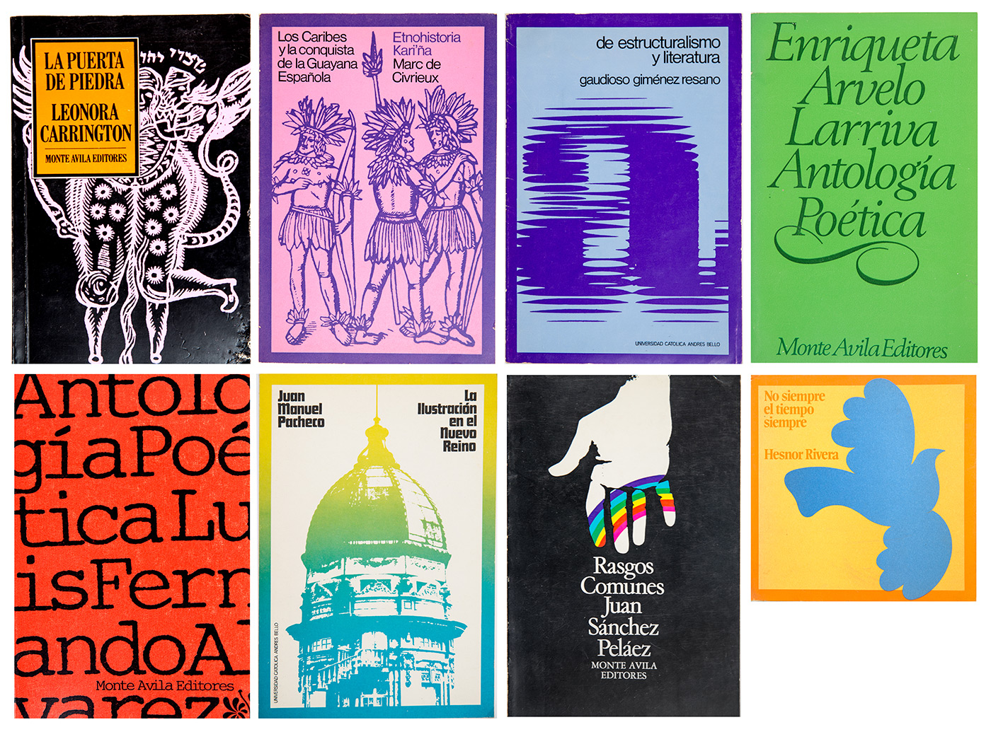 Some of Victor Viano's covers printed at Editorial Arte