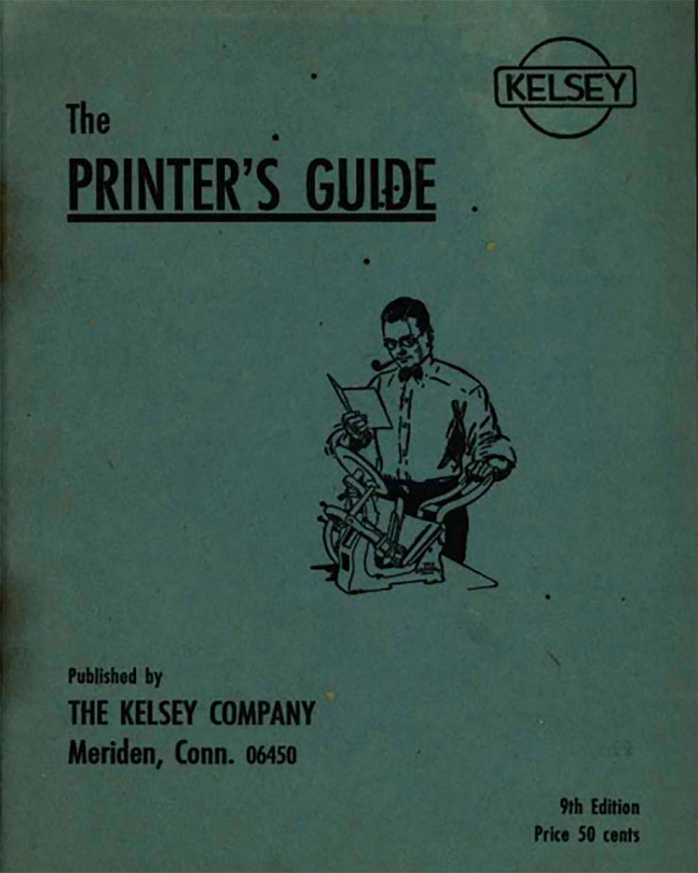 "The Kelsey Company, ""The Printer's Guide"" (ca. 1940s-50s)"