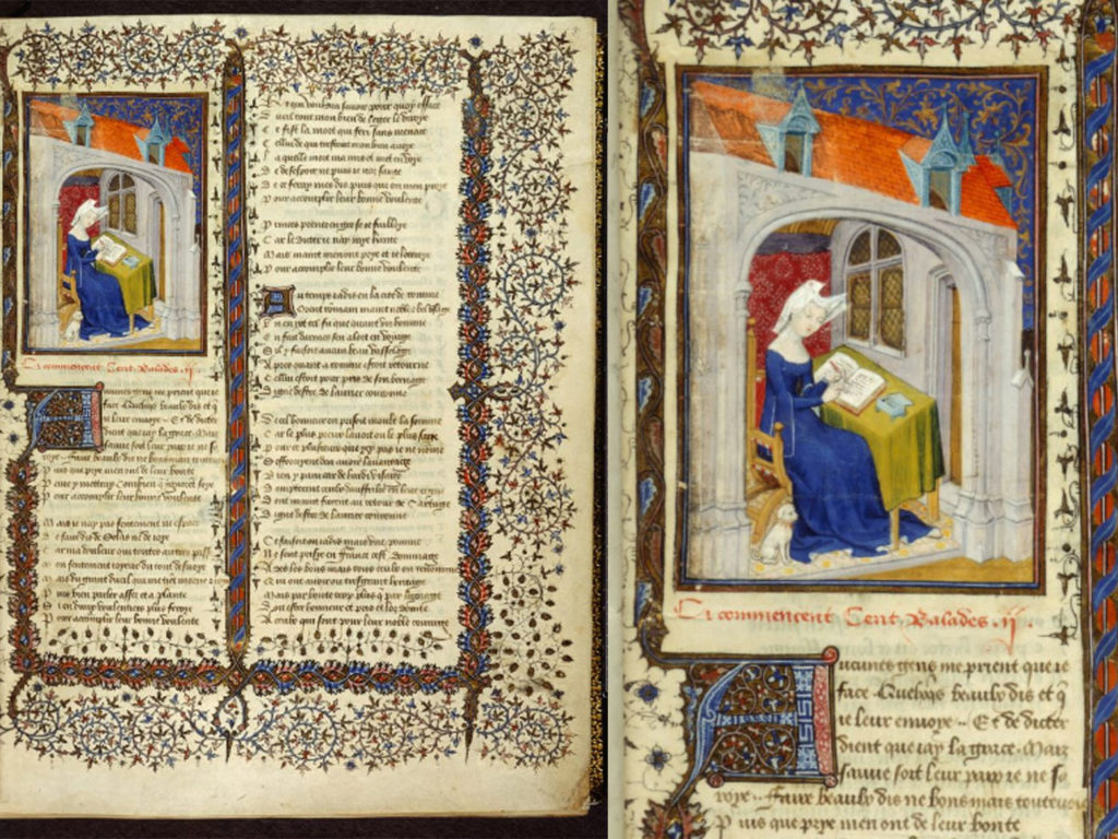 Manuscript of The Book of the Queen