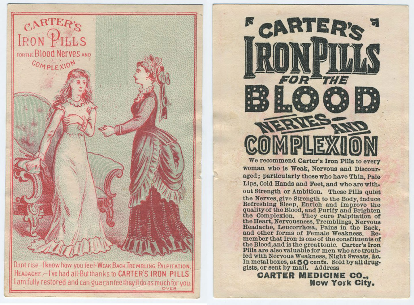 Advertisement by Carter's Medicine Co