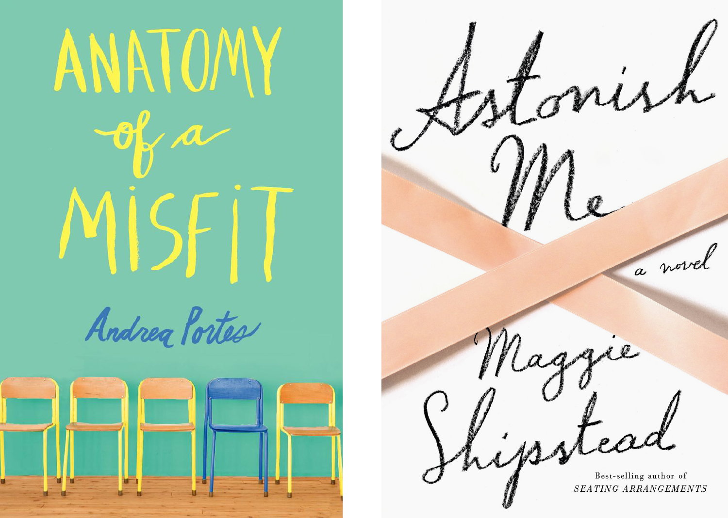 Anatomy of a Misfit and Astonish Me covers