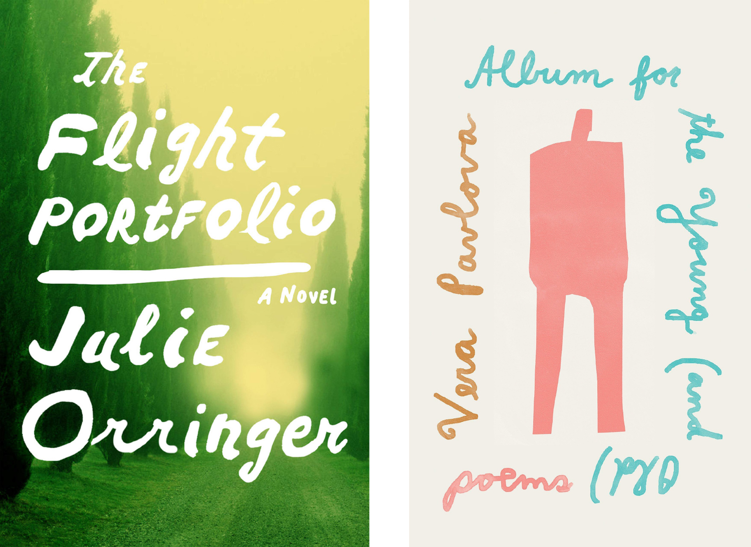 The Flight Portfolio and Album for the Young covers