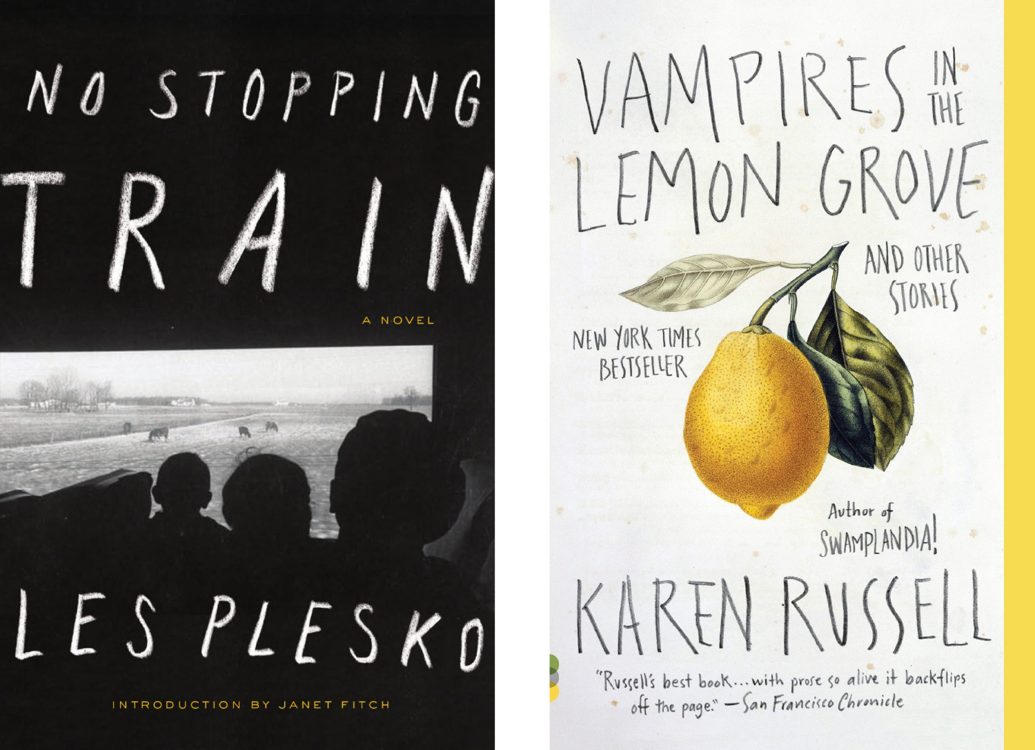 No Stopping Train and Vampires in the Lemon Grove covers