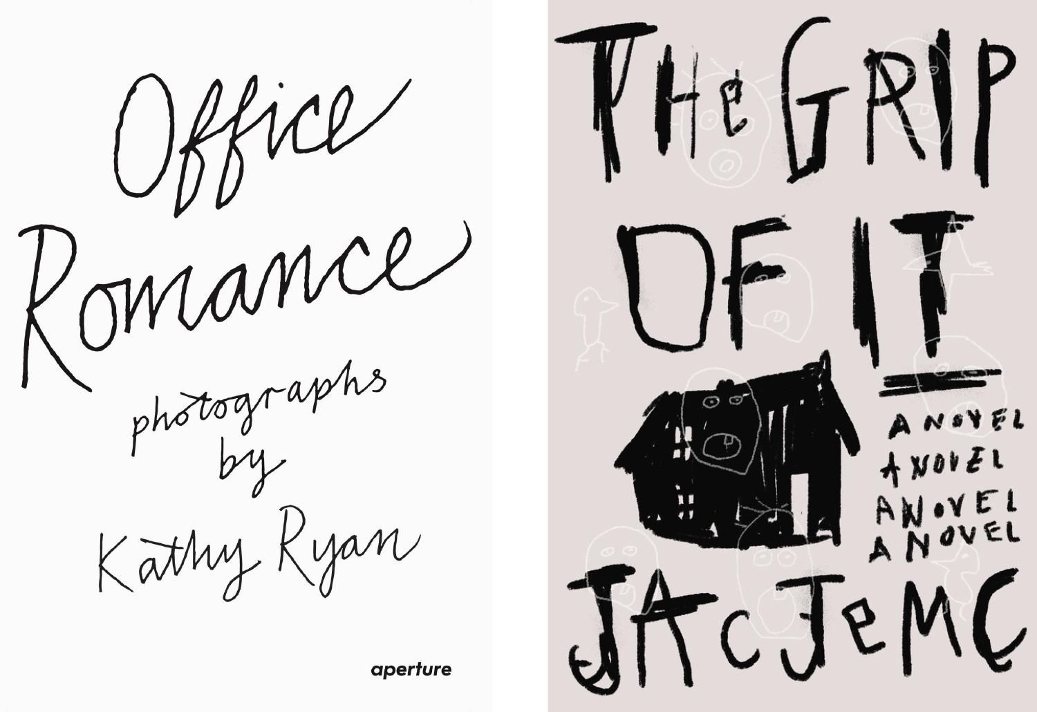 Office Romance and The Grip of It covers